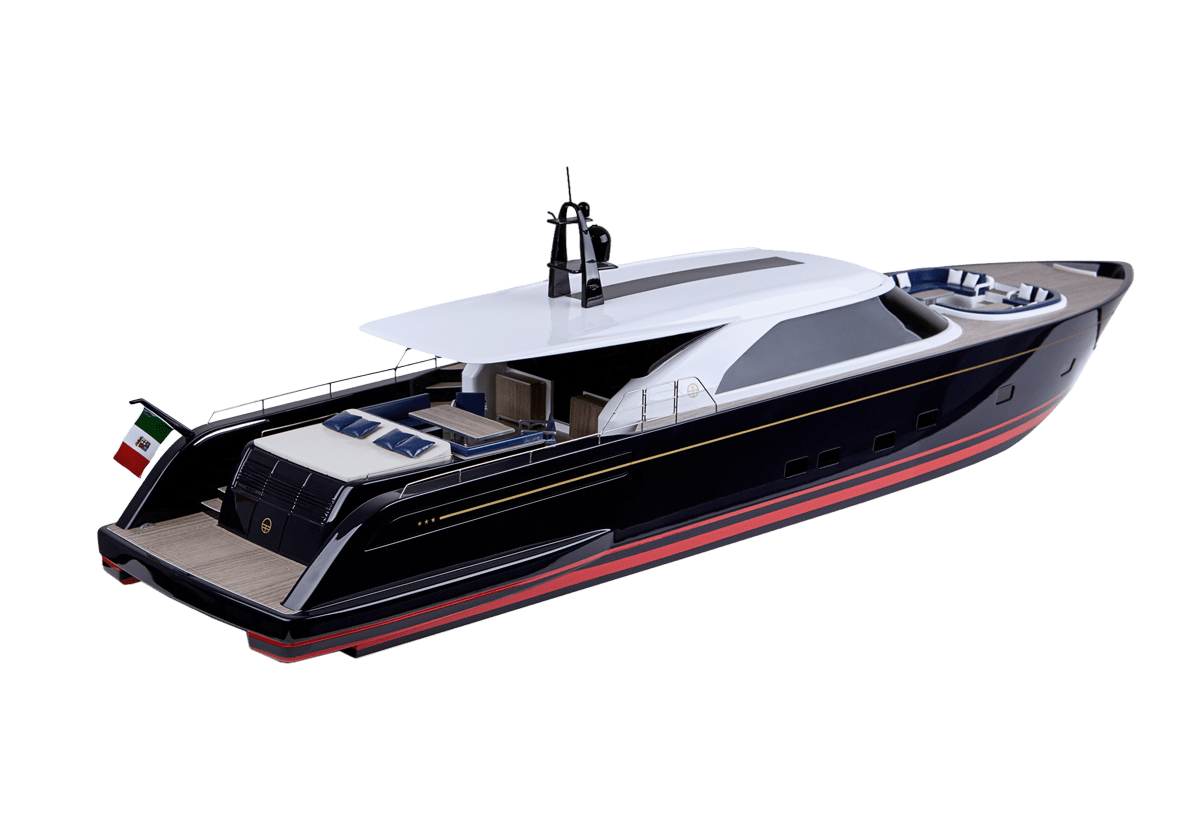 perini yacht model maker group